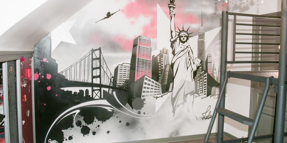 Chambre thème New York