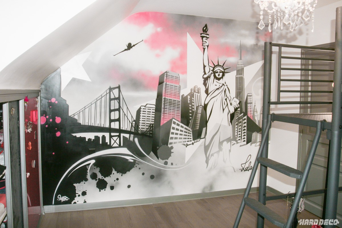 Star is born hard deco for Peinture decoration murale