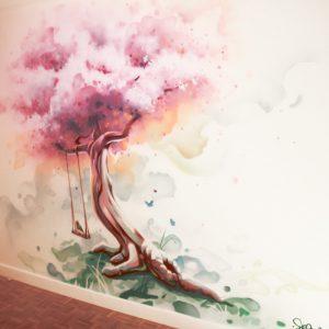 Déco Cerisier féerique
