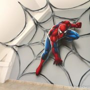 Spiderman on Web