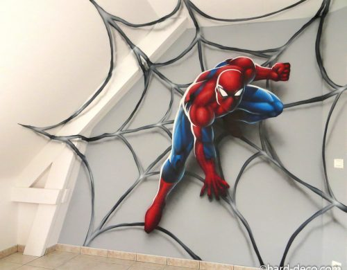 Spiderman on Web