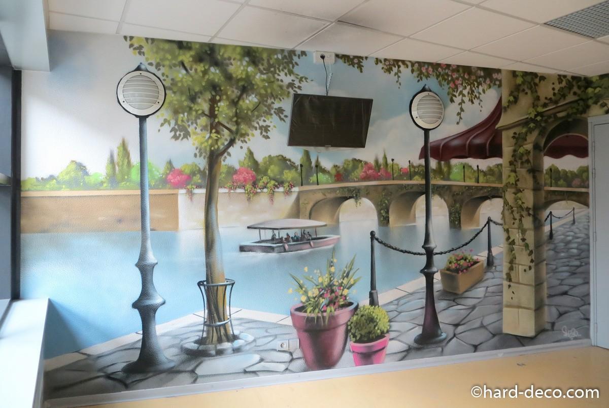 Fresques Murales Th Me Paris Ancien