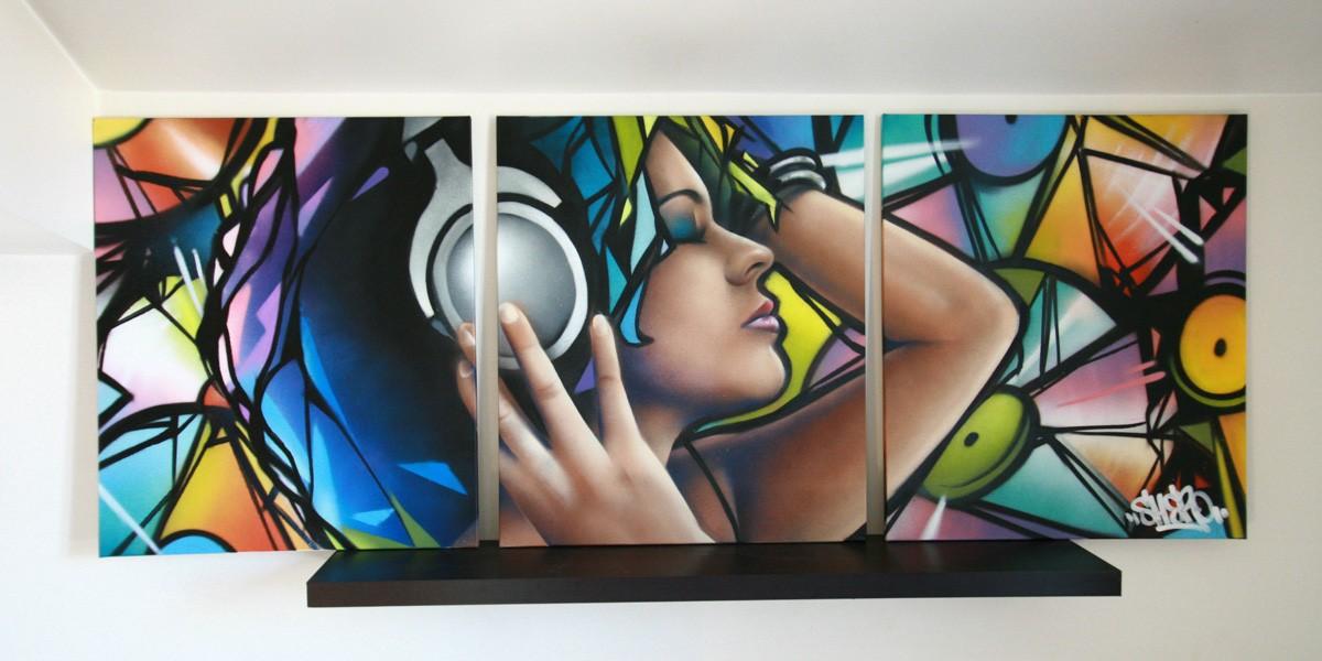 triptyque 180×75 Soul music
