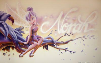 Fée Clochette et Norah