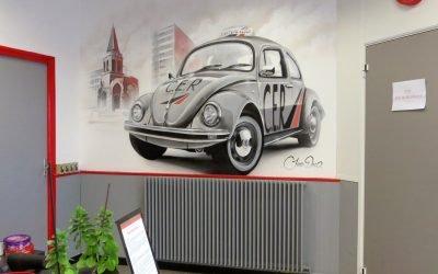 Une équipe d'artistes pour décorer vos locaux professionnels
