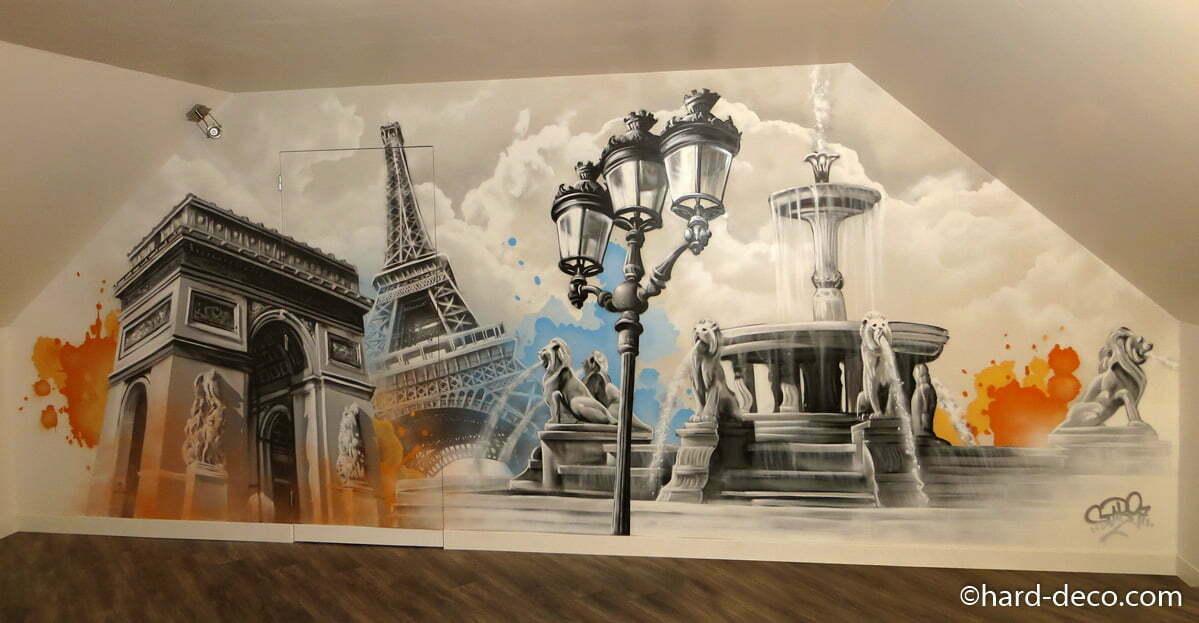Deco Chambre Tour Eiffel Gawwalcom - Eiffel chambre de la tour des idees de decoration