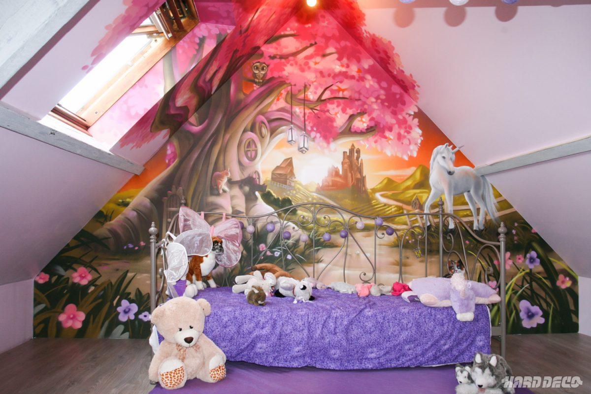 chambre de princesse. Black Bedroom Furniture Sets. Home Design Ideas