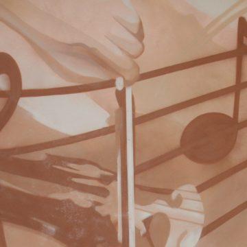 Deco de salon La violoncelliste