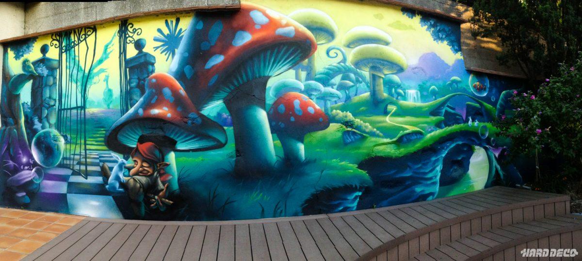 Psych d lique voyage hard deco - Decoration chambre psychedelique ...