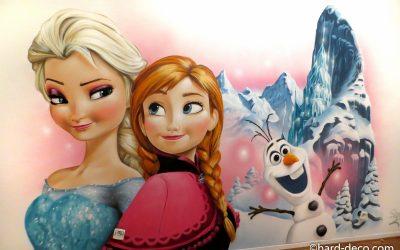 La Reine des Neiges et Princesse Anna