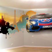 Paris, Saint Germain et Lamborghini