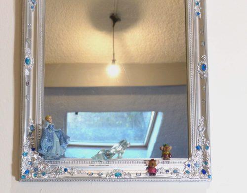 Miroir Cendrillon et sa pantoufle de verre Disney