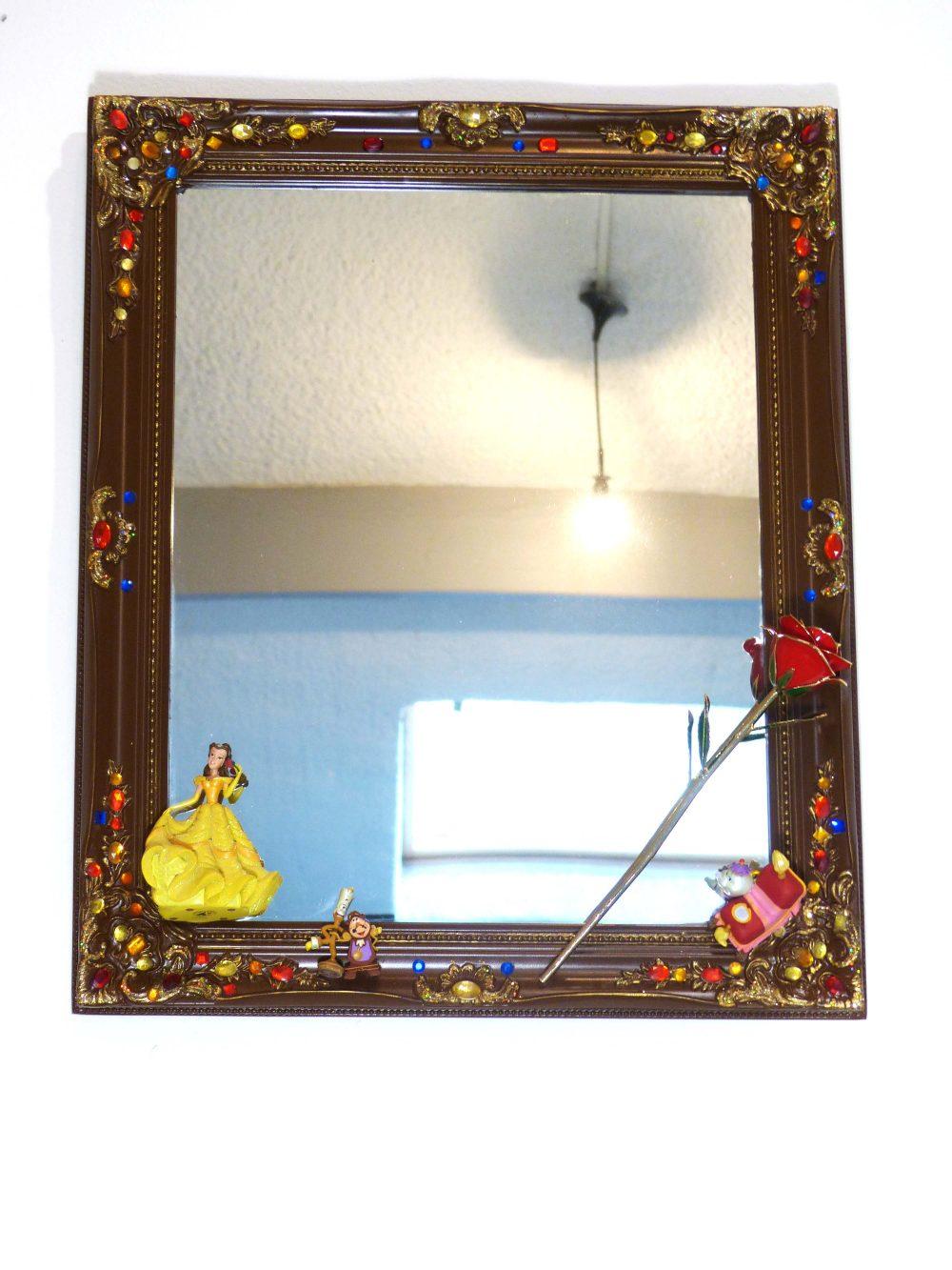 Cr ation d 39 un miroir sur la th matique de la belle et la for Miroir western