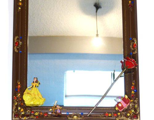 Création d'un miroir sur la thématique de la Belle et la Bête de Walt Disney