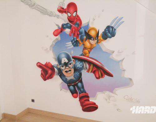 Fresque Mini Marvel Avenger