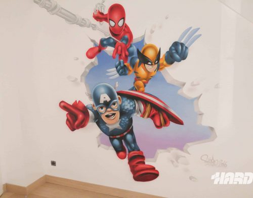 Fresque Mini Marvel Avenger