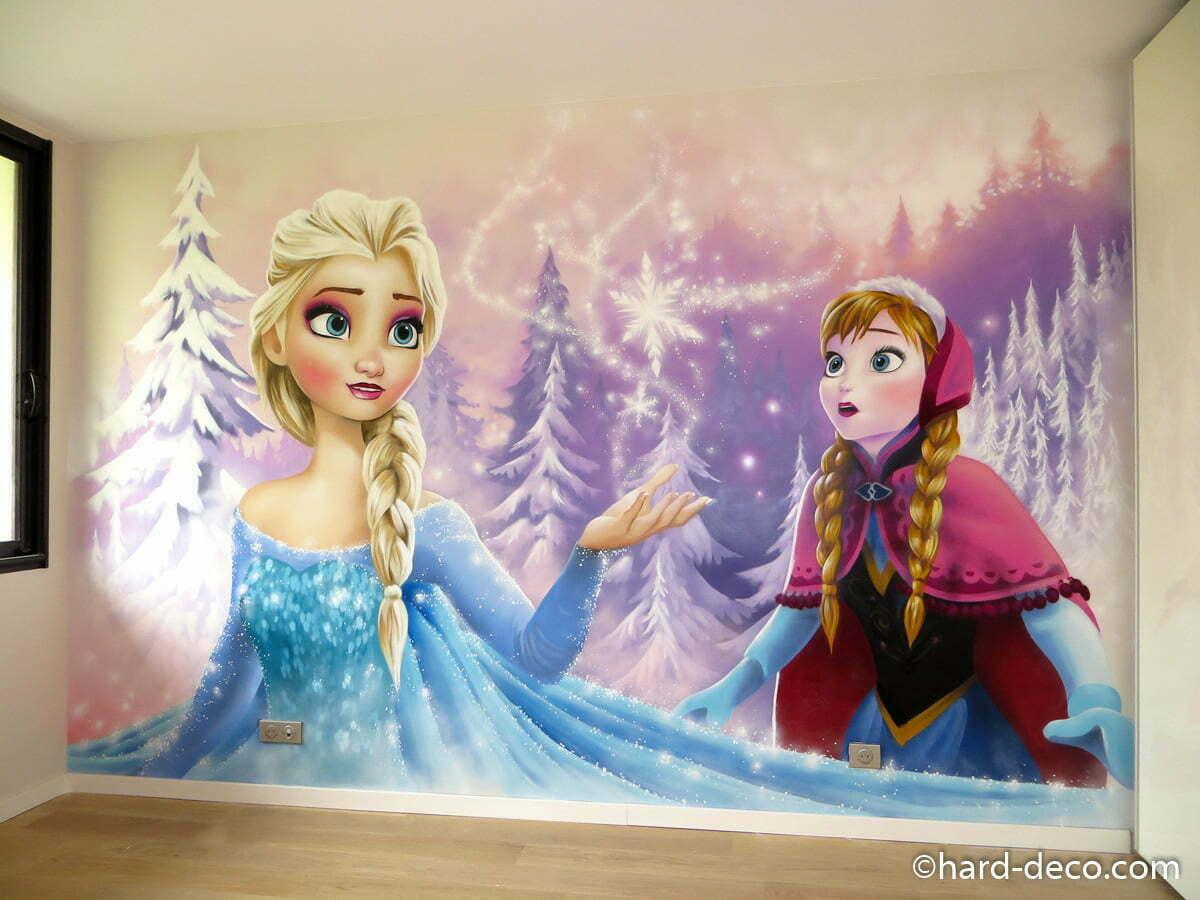 Deco Chambre Walt Disney : Hard deco fresques et décorations murales pour les pros