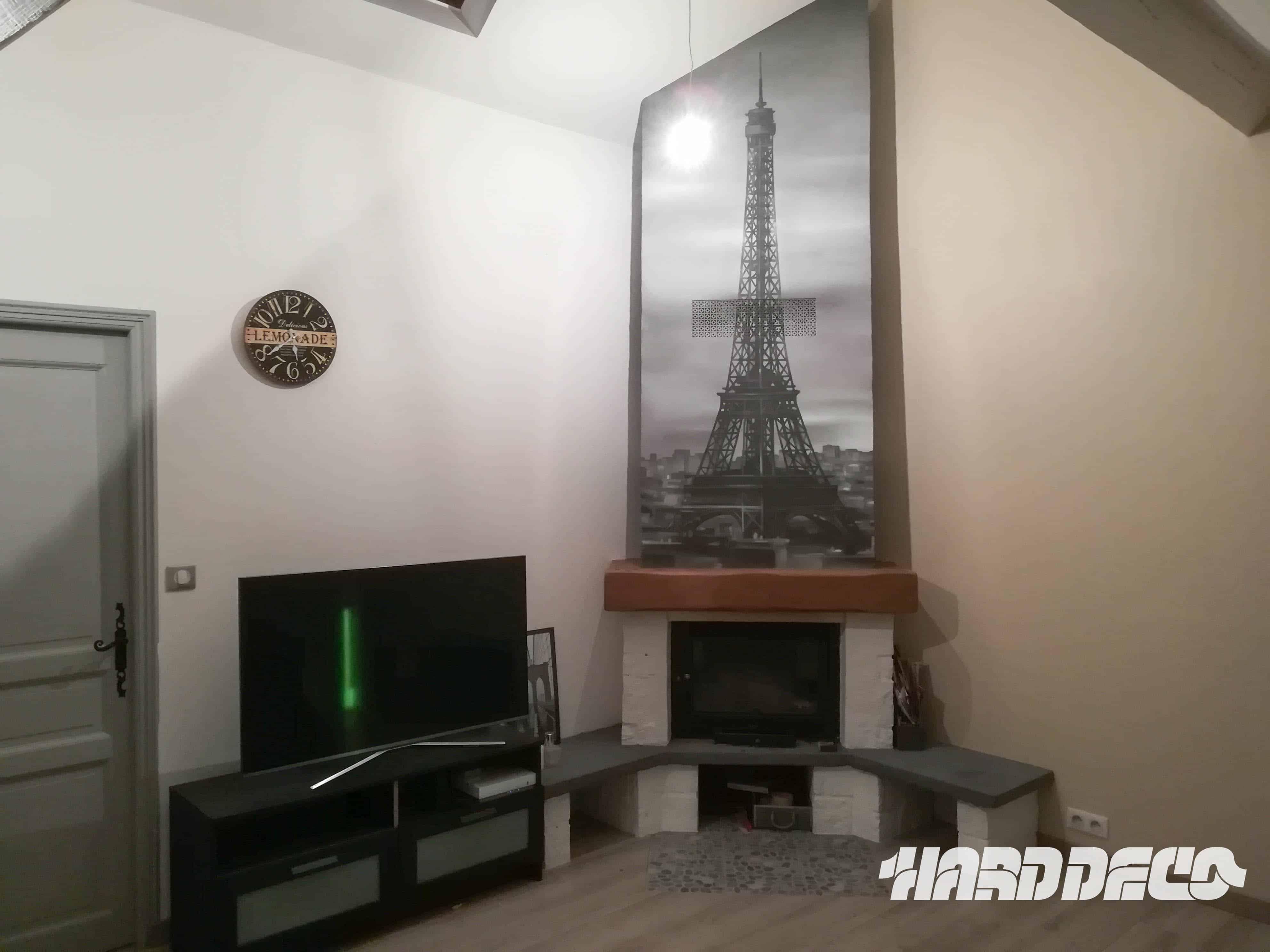 Une cheminée parisienne
