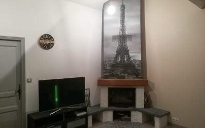 Une cheminée parisienne !