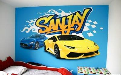 Lamborghini pour Sanjay
