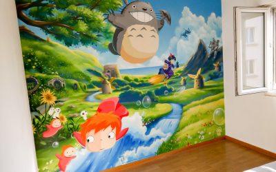 Thème Ghibli Totoro Ponyo