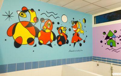 Ecole Maternelle Pouillon thème Miro