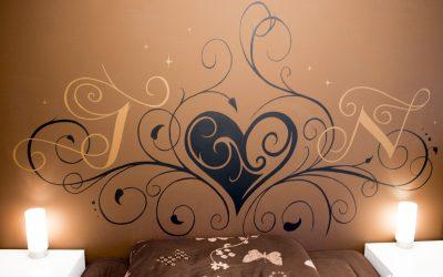 Tête de lit arabesque