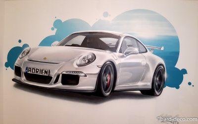 Porsche blanche