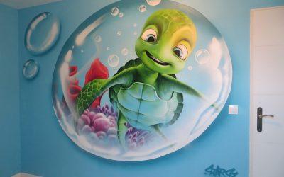 Samy est dans sa bulle !