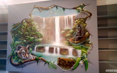 Singes de la jungle