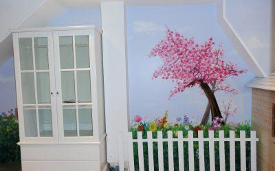 Chambre nature cerisier japonais