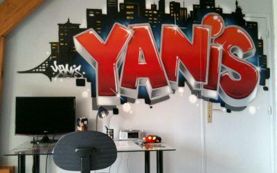 Graffiti Yanis à New York