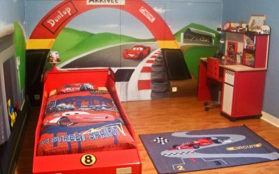 Chambre Cars avec circuit