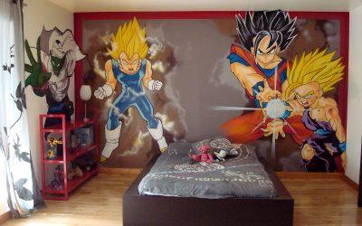 Chambre Manga Dragon Ball Z