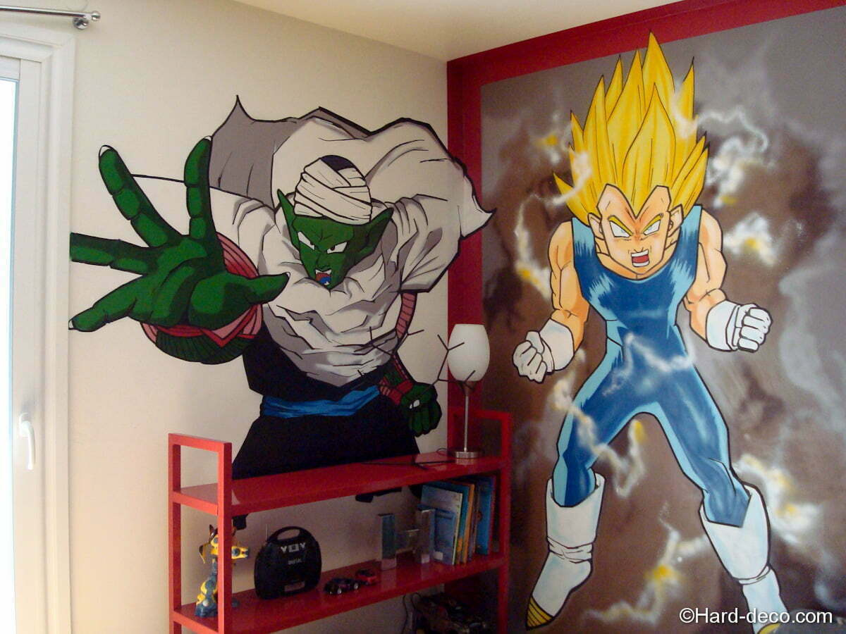 Chambre Manga Dragon Ball Z  Hard Deco