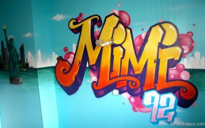 Graffiti Mimi à New York