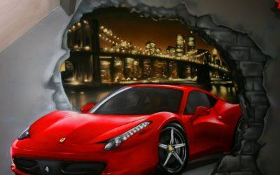 Ouverture Ferrari New York