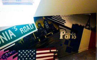 Patchwork New-York Londres Paris