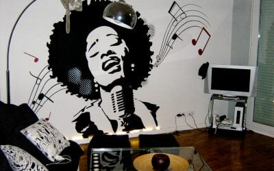 Décoration Soul musique