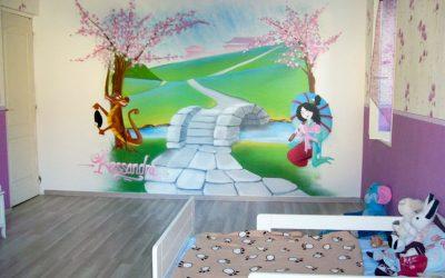 Décoration chambre Mulan