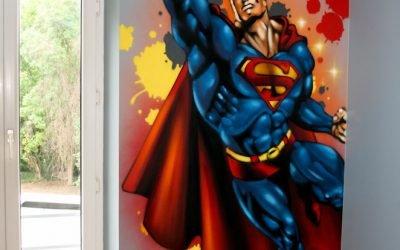 Décoration murale Superman