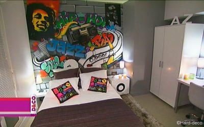 Décoration graffiti M6 D&CO