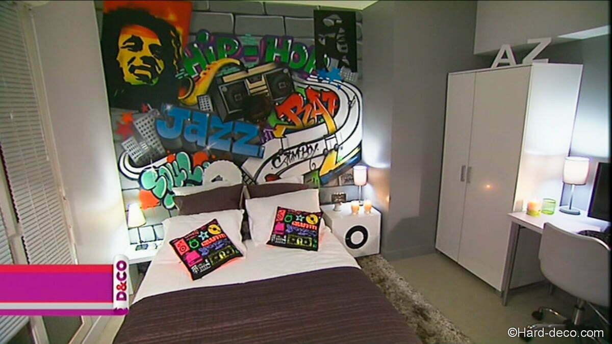 Décoration graffiti M16 D&CO  Hard Deco