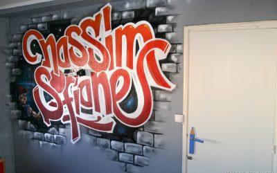 Sofiane & Nassim urban Graffiti