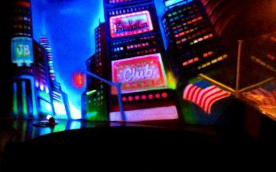 Peinture fluorescente Manhattan