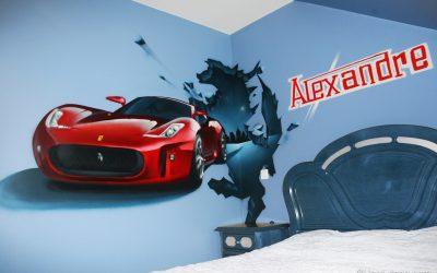 Chambre Ferrari
