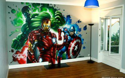 Chambre Marvel Avengers