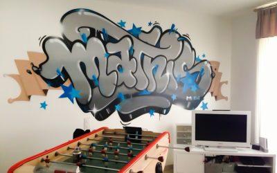 Salle de jeu graffiti Mathis