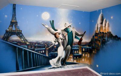 Fresque un monstre à Paris
