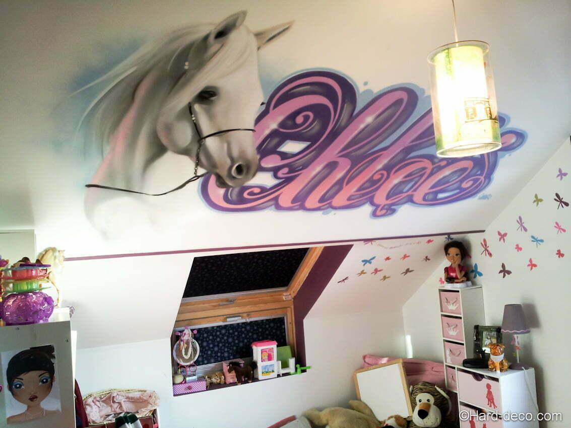 La chambre de la princesse Chloé  Hard Deco